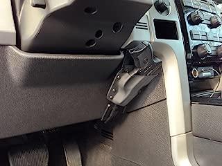 under steering wheel holster legal