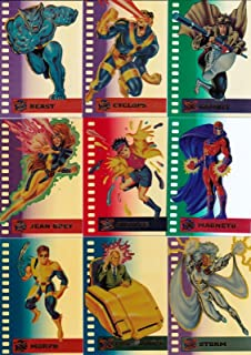 b4d7f23398c X-MEN 1995 FLEER ULTRA SUSPENDED ANIMATION COMPLETE INSERT CHASE CARD SET 1  TO 10