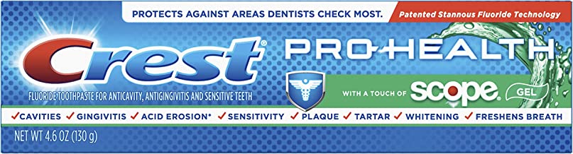 Crest Pro Health with a Touch of Scope Whitening Toothpaste, 4.6 Ounce (Pack of 24) (Packaging May Vary)