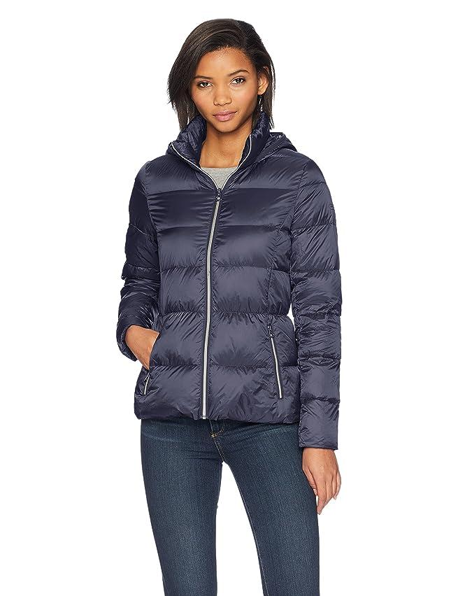 Lucky Brand Women's Short Lightweight Packable Down Coat