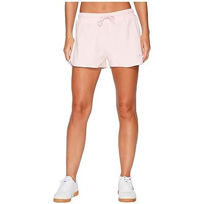 Fila Follie Shorts (Rosebud/White/White) Women