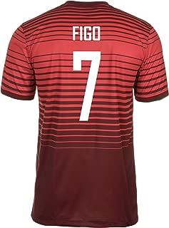 FIGO #7 Portugal Home Jersey 2014/15