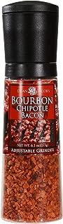 Dean Jacob's Bourbon Chipotle Bacon Seasonings Chef Size Jumbo Grinder 6.1 oz.