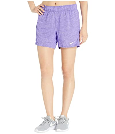 Nike Flex Attack Training Short (Psychic Purple/Heather/Lavender Mist) Women