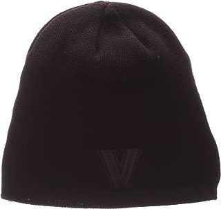 Zephyr Blackout Edge Black Tonal Skull Cap - NCAA Cuffless Winter Knit Beanie Toque Hat