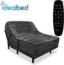 iDealBed iQ5 Luxury Hybrid Mattress and Adjustable Bed Sleep System, Pressure Relief Sleep, Zero Gravity, Anti-Snore, Cust...