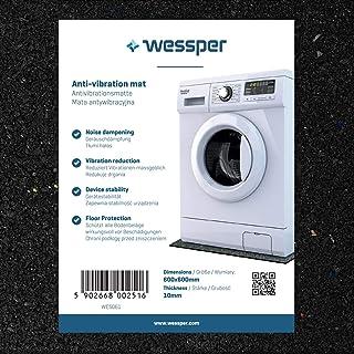 Wessper Estera de la Lavadora para Fagor FT411 (60 x 60 x 1cm)