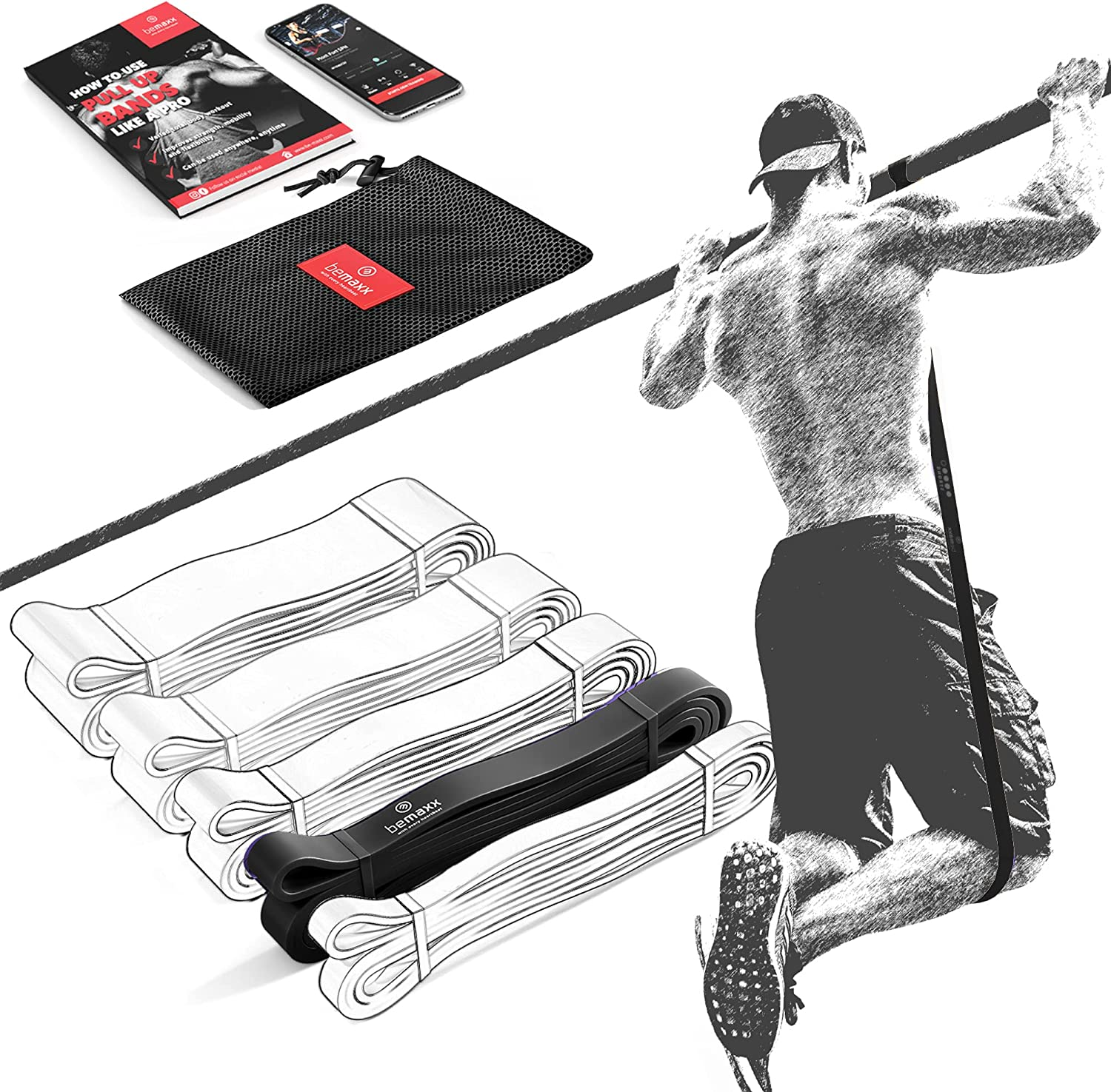 Resistance Band Pull Up Assist Exercise Ranking TOP3 + Ranking TOP6 Guide: Strength Traini