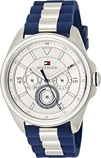 Tommy Hilfiger Women's Analog Quartz Watch with Silicone Strap 1781771