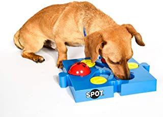 SPOT Seek-a-Treat Flip 'N Slide Treat Dispenser for Dogs | Dog Treat Dispenser | Dog Treat Dispenser Toy | Interactive Puz...
