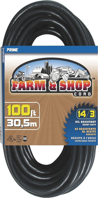New color Prime EC532735 100-Foot 14 3 SJTOW Cord Shop Farm Super Special SALE held Extension and