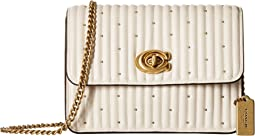 COACH Quilting with Rivets Bowery Crossbody