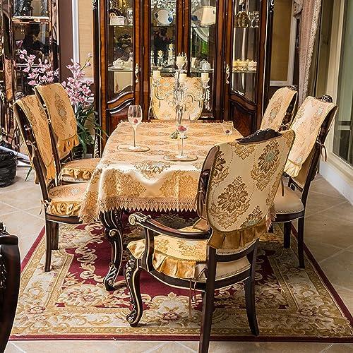 European-Style-Tischdecke Tuch Spitzen Tischdecke Rechteckiger Couchtisch-Tuch Tischdecken Tischsets-B 140x180cm(55x71inch)