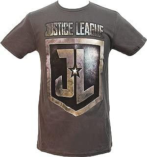 DC Comics Justice League Movie Shield Logo Men's T-Shirt