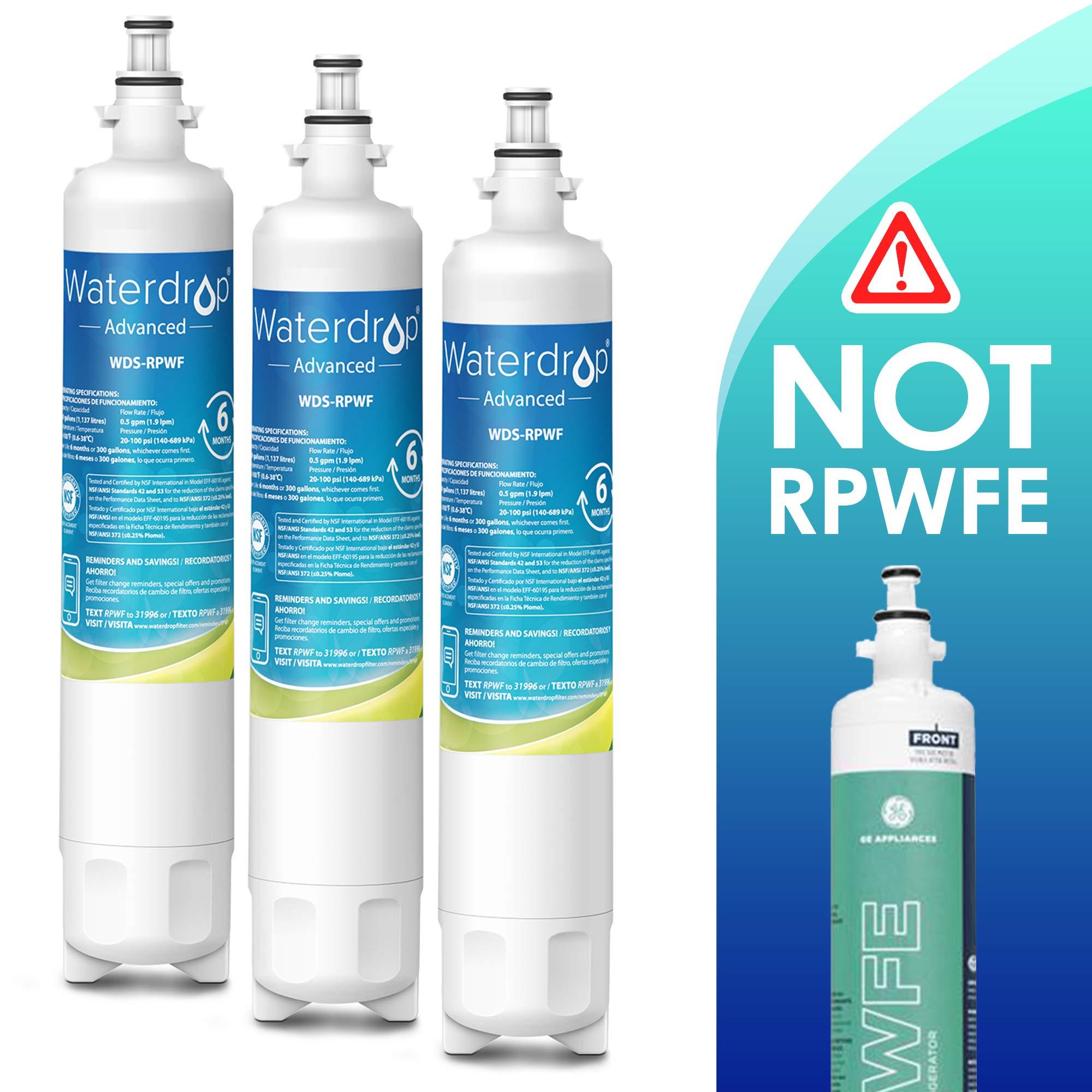 Waterdrop Certified Replacement Refrigerator Compatible