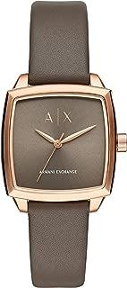 ARMANI EXCHANGE Women's AX5454 Year-Round Analog-Digital Quartz Brown Band Watch
