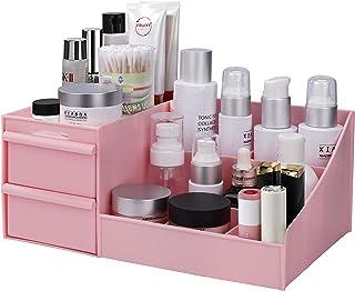 MaoXinTek Make Up Organizer mit Schubladen, Aufbewahrungsbox Kosmetika Schminke für Aufbewahrung im Bad Schlafzimmer Von L...