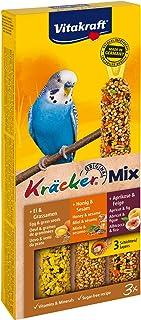 Kräcker Trio-Mix Miel Sésame/Abricot Figue/Œuf Graines de Graminées Perruches P/3