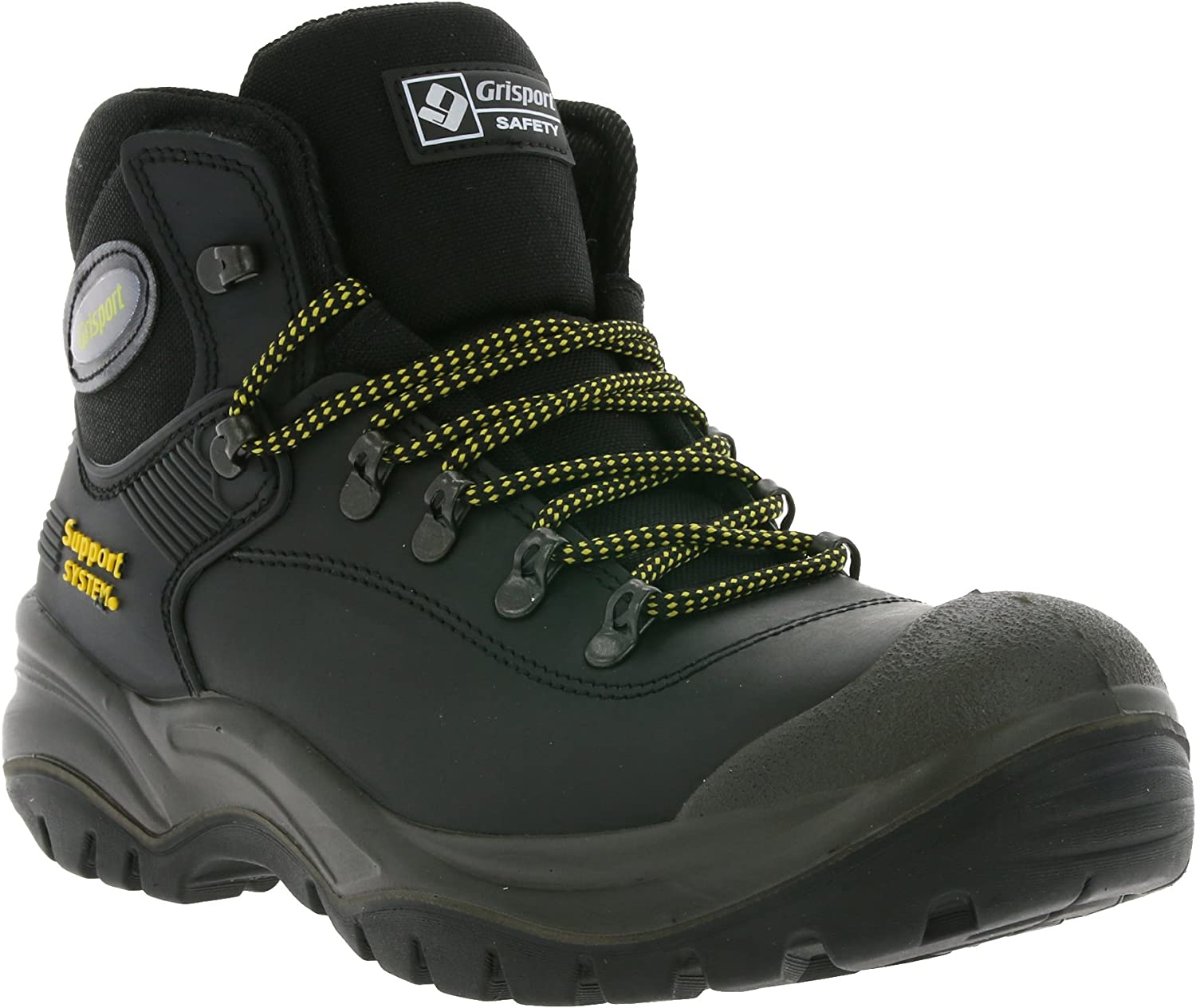 greyport 703LDV16 40 Safety Boots, Cortina , S3, Size 6.5