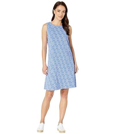 Fresh Produce Tidepool Geo Marissa Dress (Peri Blue) Women