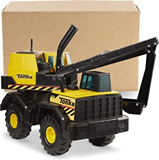 Tonka Steel Backhoe Toy Construction Vehicle, Yellow/Black