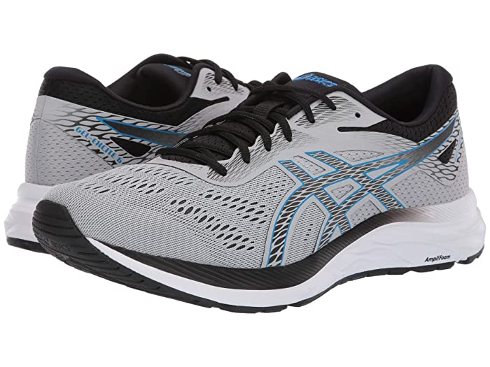 ASICS  GEL-Excite 6 (Mid Grey/Electric Blue) Mens Running Shoes