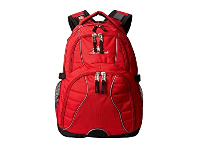 High Sierra Swerve Backpack (Crimson/Black) Backpack Bags