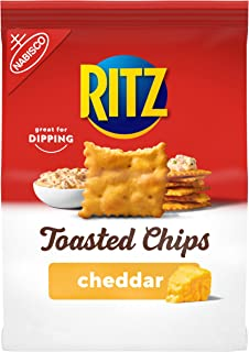 Ritz Toasted Chips Cheddar Flavored, 1 – 8.1oz bag