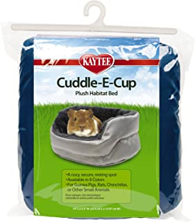 Kaytee Super Sleeper Cuddle E Cup Bed for Small Animals, Colors Vary
