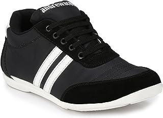 Andrew Scott Men's Nylon Casual Sneakers