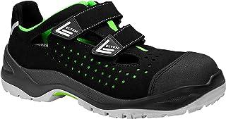 ELTEN Obuwie ochronne IMPULSE green Easy ESD S1P, męskie, sportowe, lekkie, czarne/zielone, nasadka z tworzywa sztucznego,...