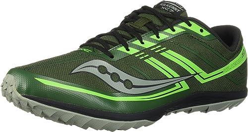 Saucony Hommes's Hommes's Kilkenny XC7 Flat Track chaussures, vert Slime, 10.5 M US  Réponses rapides