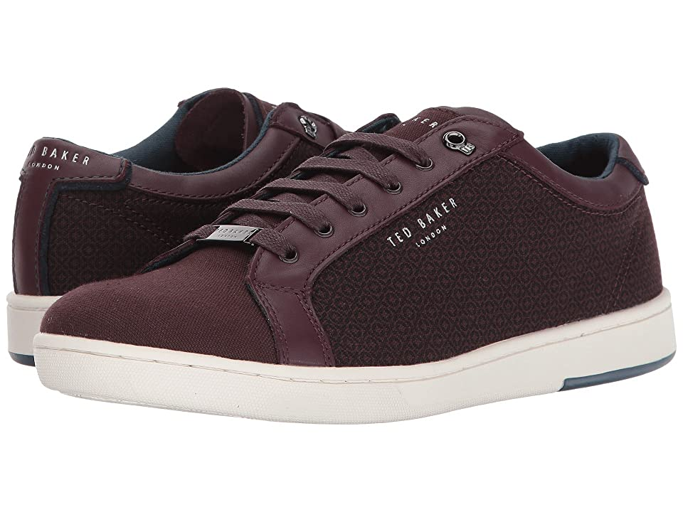 Ted Baker Ternur (Dark Red Textile) Men