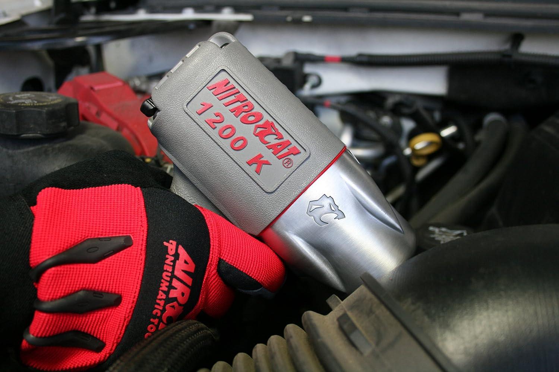 NitroCat 1200-K ½-inch Kevlar Composite Air Impact Wrench