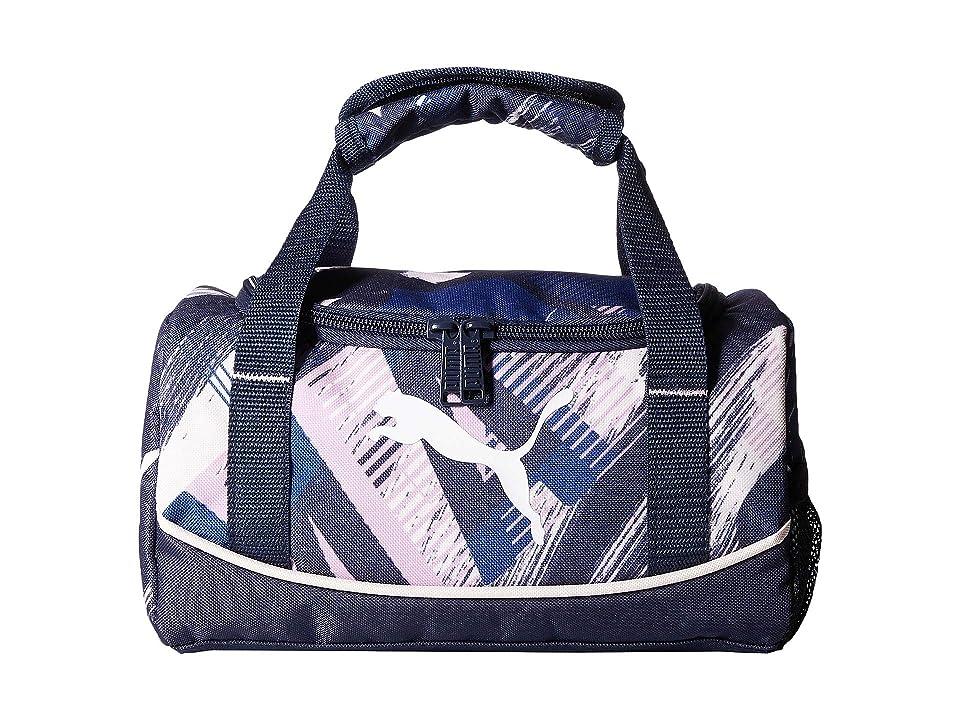 PUMA Evercat Mini Duffel Lunch Box (Little Kids/Big Kids) (Navy/Pink) Bags