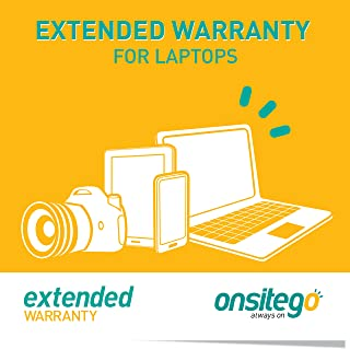 OnsiteGo 2 Year Extended Warranty for Laptops from Rs. 35001 to Rs. 50000