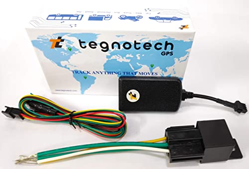 Tegnotech ET-300 Smaller Sleeker Than ST-901 SMS GPS GSM GPRS Real-Time Vehicle Tracking with No Drift Suppression Fu...