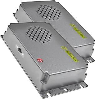 ISOTRONIC Repelente Ultrasónico de Plagas Ahuyentador de Ratas y Ratones Antiplagas Set de 2