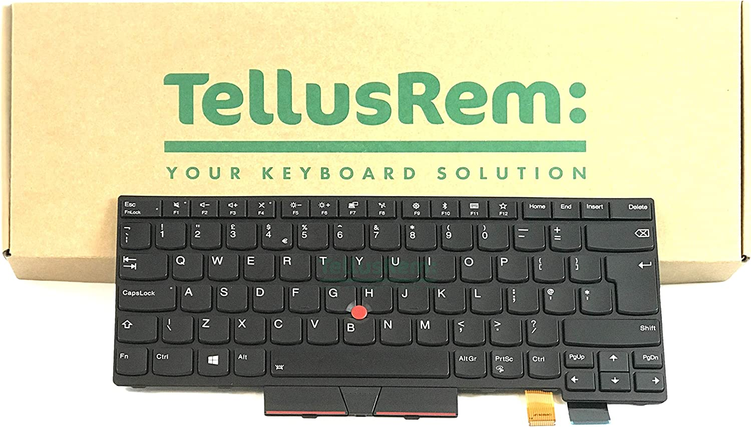 New Never Used Replacement Keyboard for Lenovo Thinkpad T470 T480 with Backlight US Layout
