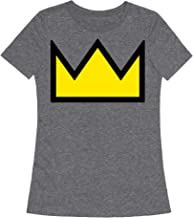 LookHUMAN Betty's Crown Sweater Womens Fitted Triblend Tee