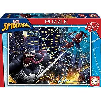Multi-Colour Spider-Man 18100 Marvel Puzzle Educa Borr/ás Spider-Man