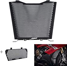 COPART Motorcycle Radiator Guard Grille & Oil Cooler Guard Protector for BMW S1000RR S1000R HP4 2019