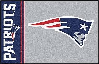 FANMATS NFL New England Patriots Nylon Face Starter Rug