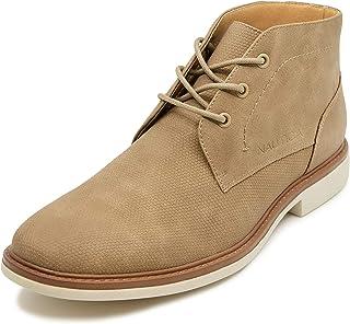 Men's Vega Chukka Boot Lace Up Ankle Shoe Oxfords Desert Boots