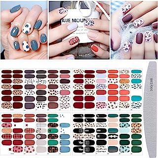 20 vellen nagellak sticker volledige wrap nail art sticker, Kalolary luipaard print zelfklevende nail art sticker strip na...