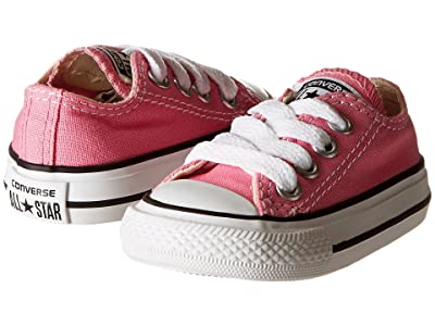 Converse Kids Chuck Taylor(r) All Star(r) Core Ox (Infant/Toddler) (Pink) Kids Shoes