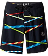 VISSLA Kids - Chopsticks Four-Way Stretch Boardshorts 17