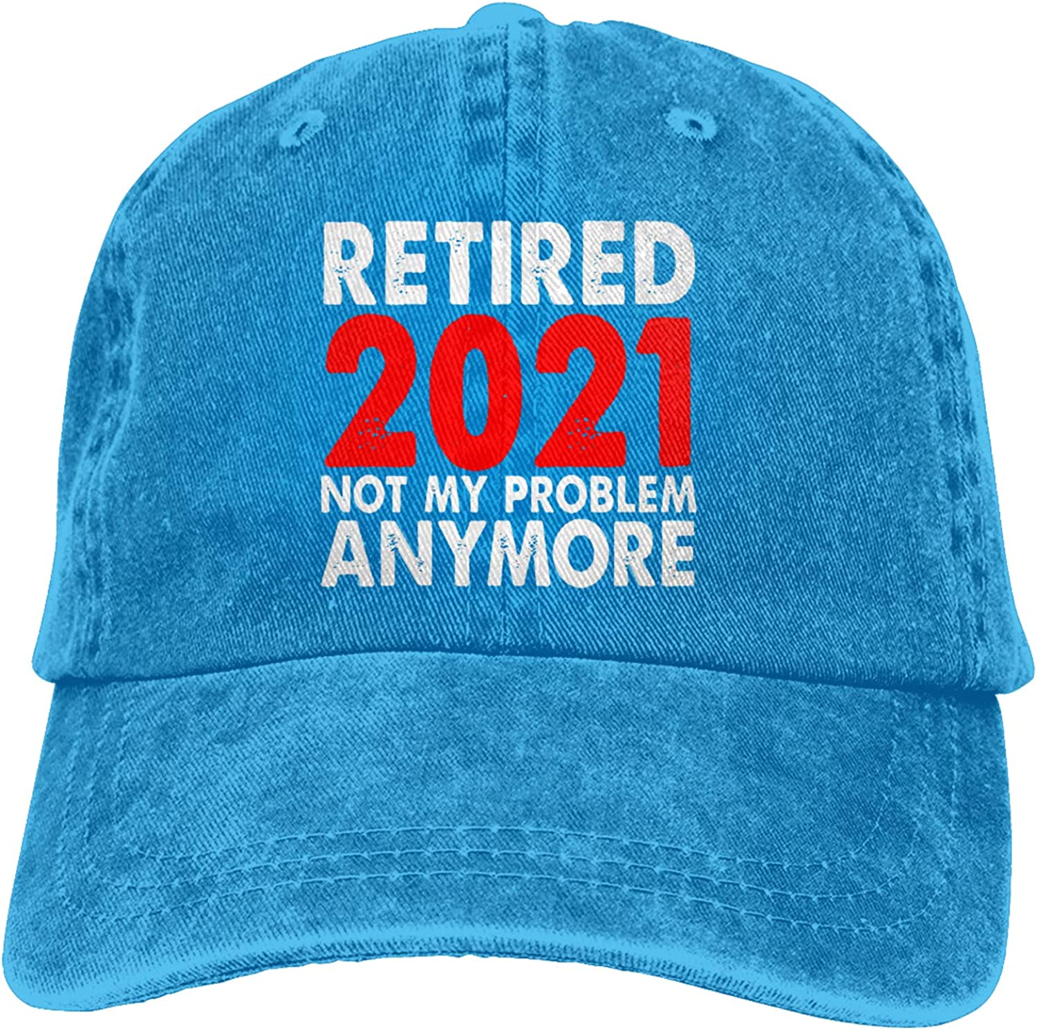 Retired 2021 National uniform free shipping spring and summer new Not My Problem Hat Retirement Anymore Vintage Adjus
