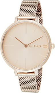 Tommy Hilfiger Womens Quartz Wrist Watch, Analog and Stainless Steel- 1782165