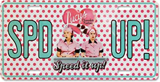 Midsouth Products I Love Lucy License Plate - Chocolate Factory